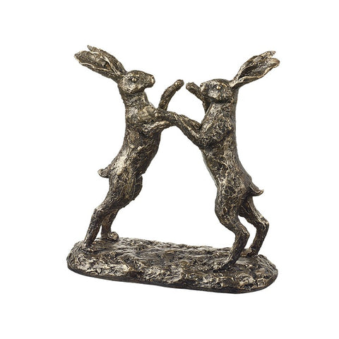 Boxing Hares Ornament 9437