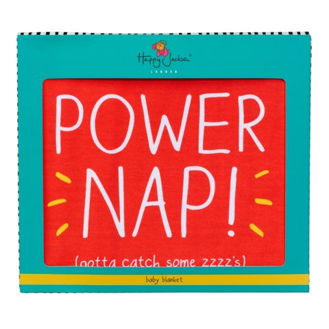 Happy Jackson Power Nap Baby Blanket 4767