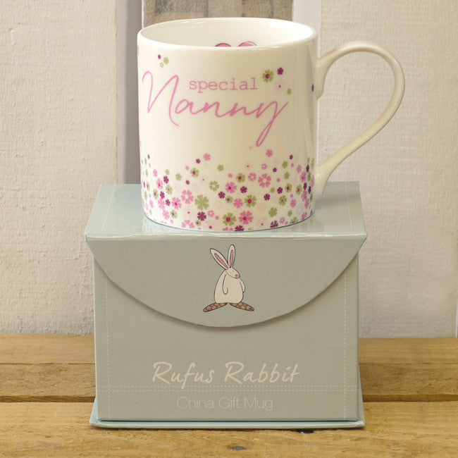 Rufus Rabbit China Mug - Special Nanny 1952