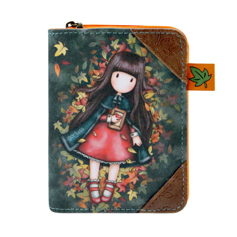 Gorjuss Autumn Leaves - Wallet 9665