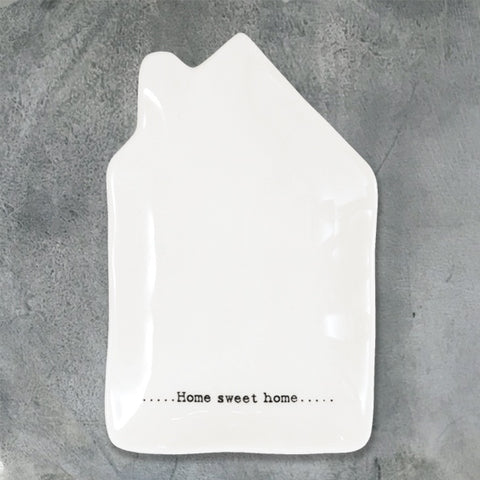 Wobbly Porcelain House - Home Sweet Home 9152
