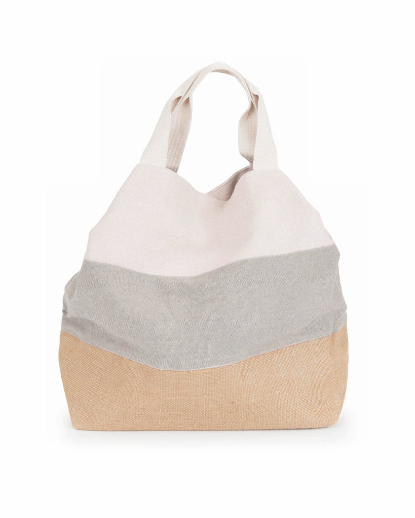 Powder Boho Bag in Slate / Cream 8600
