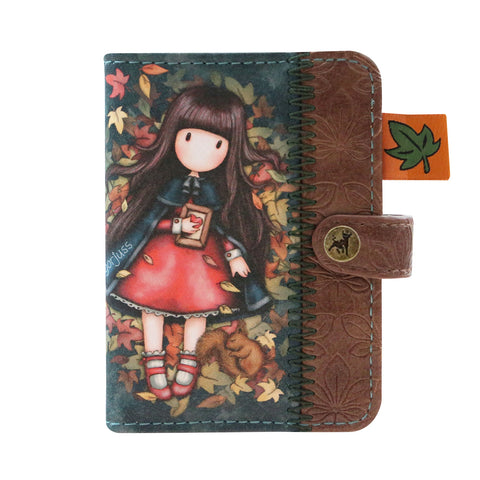 Gorjuss Autumn Leaves - Card Holder 9668