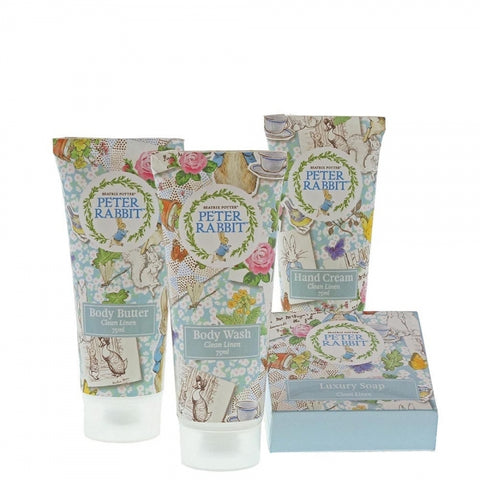 Beatrix Potter - Peter Rabbit Linen Gift Set 7833