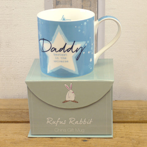 Rufus Rabbit China Mug - Daddy 1953