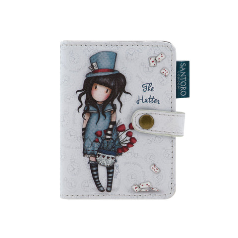 Gorjuss Card Holder - The Hatter 8094