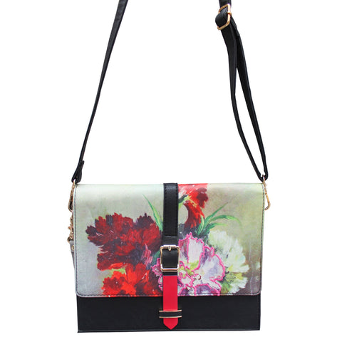 Disaster Framed Handbag 8075