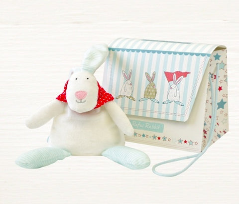 Rufus Rabbit Beanie & Bag - Boy 7415