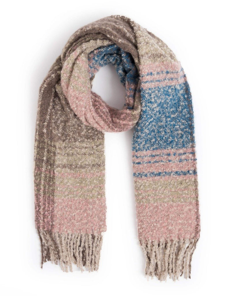 Powder Maggie Scarf in Pink Mix 9422