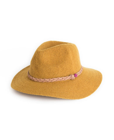 Powder Hat - Katie in Mustard 6778