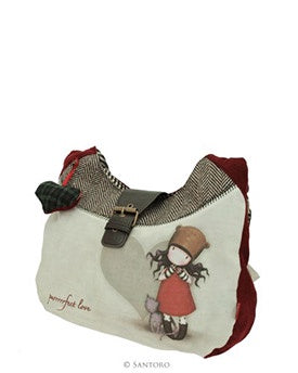 Gorjuss Slouch Bag - Purrrfect Love 8462