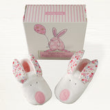 Rufus Rabbit Baby Slippers - Pink 2842