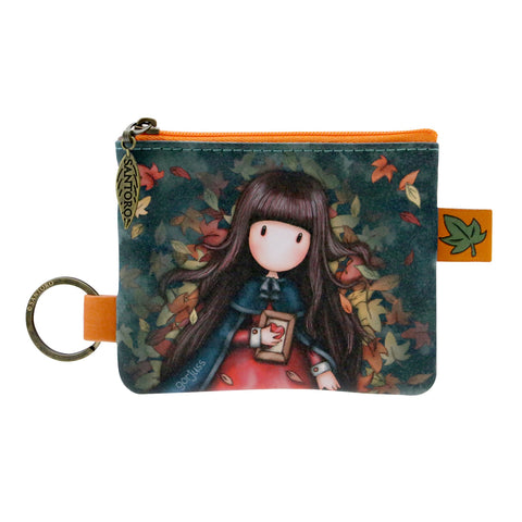 Gorjuss Autumn Leaves - Zip Purse 9674