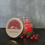 Christmas Soy Jar Candle - Polar Bears 9305