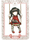 Gorjuss Tea Towel - Ruby 626