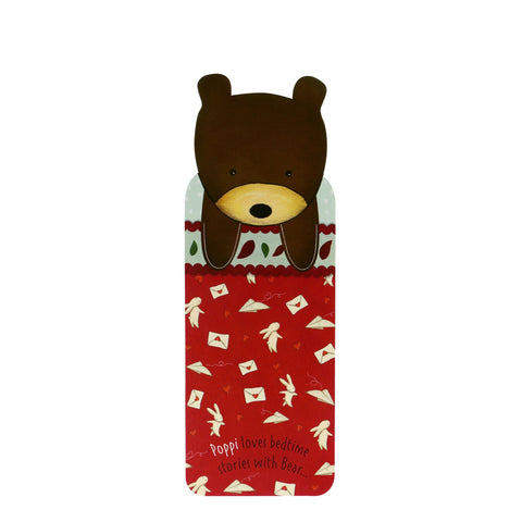 Poppi Loves Bookmark - Bear 8116
