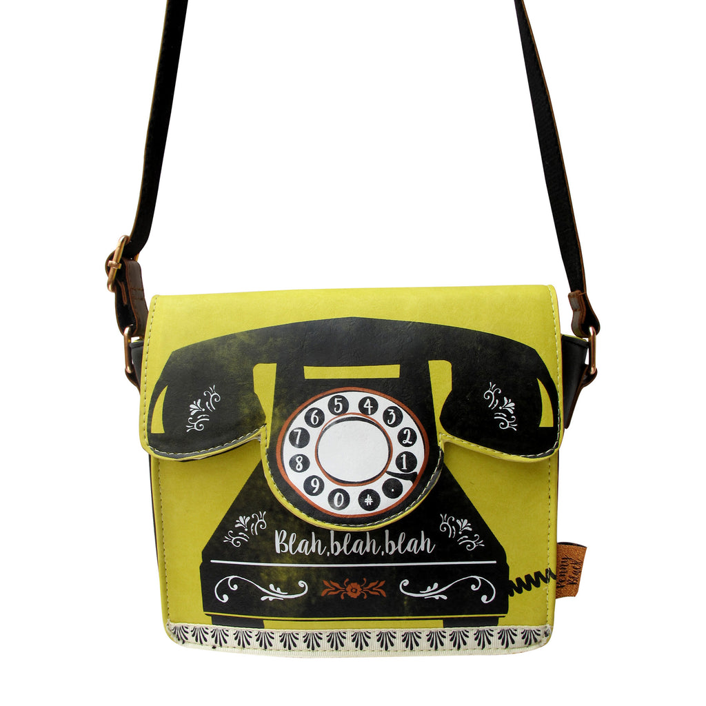 Disaster Penny Black Telephone Bag 4051