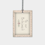 Pink Blush Gift Tag - To Our Bridesmaid 9127