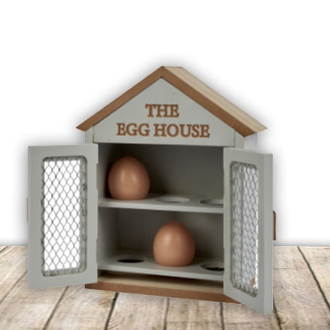 Wooden Egg House 10683