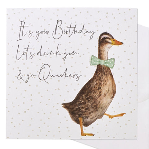 Greetings Card - Duck Birthday 9743