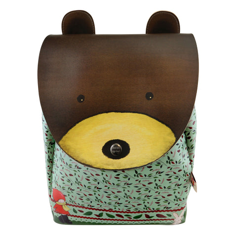 Poppi Loves Animal Rucksack - Bear 8112