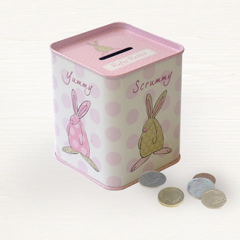 Money Tin - New Born Girl 5316