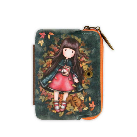 Gorjuss Autumn Leaves - Wallet with Detachable Purse 10479