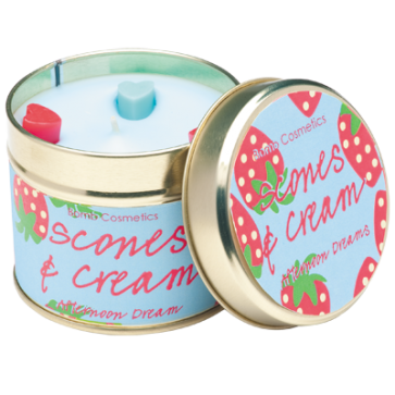 Tin Candle - Scones & Cream 3747