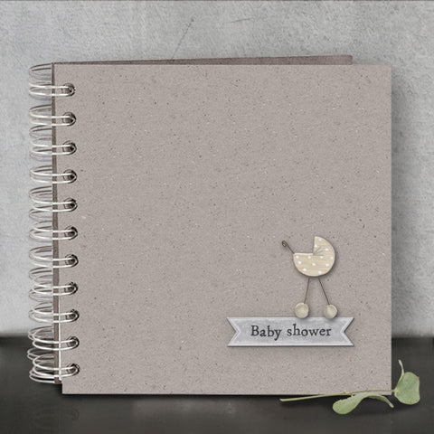 Guest Book - Pram Baby Shower 9613