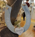 Personalised Wooden Horseshoe 4402
