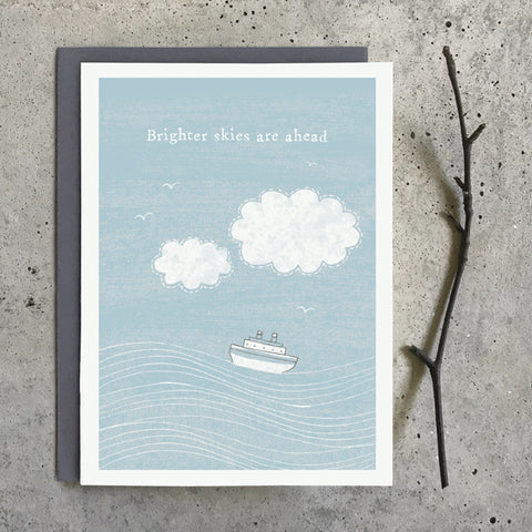 Greetings Twig Card - Brighter Skies are Ahead 10340