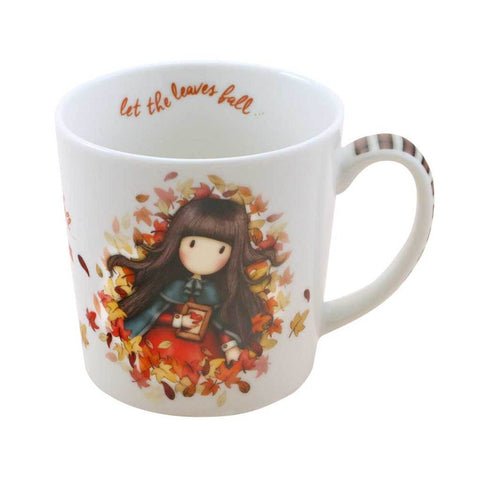 Gorjuss Autumn Leaves - Lg Mug in Box 10493