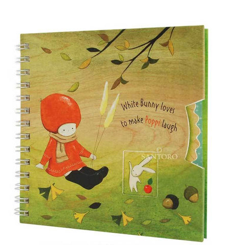 Poppy Loves Wirobound Notebook - Autumn 6270