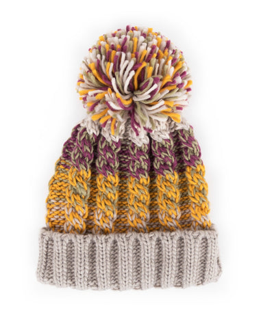 Powder Astrid Hat in Damson Mix 8224
