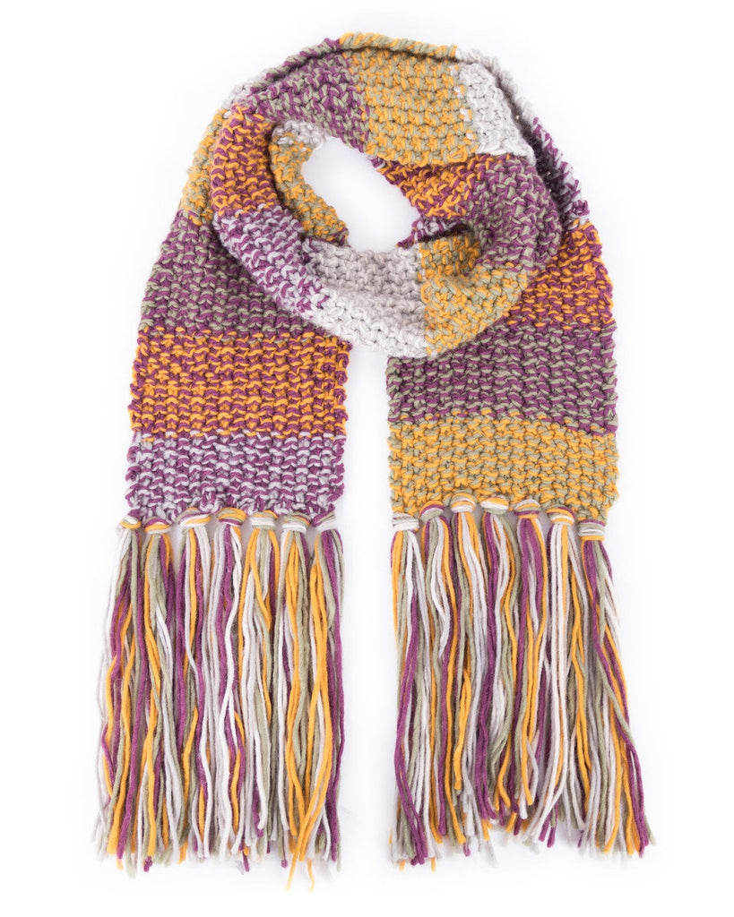 Powder Astrid Scarf in Damson 8209