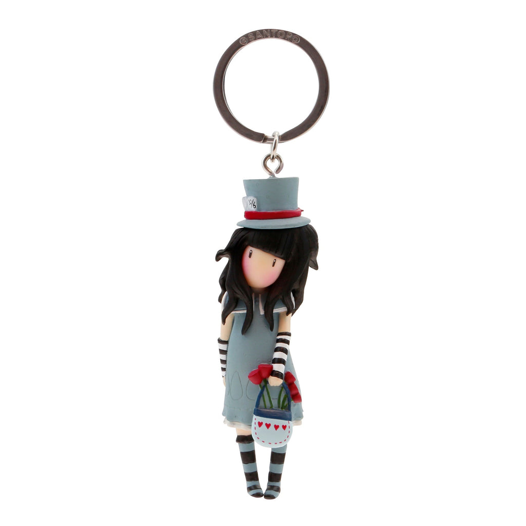 Gorjuss Keyring - The Hatter 7579