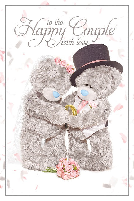 Me To You Greetings Card - Wedding 10078