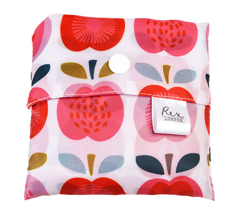 Foldaway Shopper Bags - Vintage Apple 11199