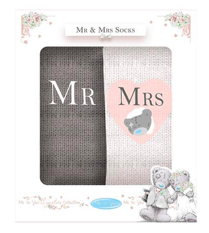 Me To You Mr & Mrs Socks 10066