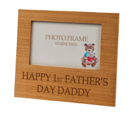 1st Father's Day Photo Frame 8865