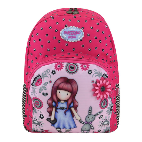 Gorjuss Fiesta Double Zip Rucksack - My Gift To You 8741