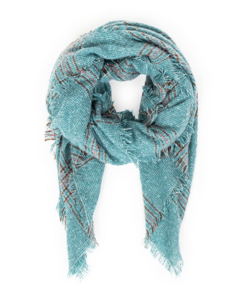 Powder Moira Scarf in Teal 9203