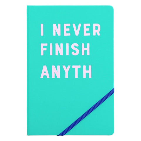 Yes Studio A5 Notebook - I Never Finish 8924