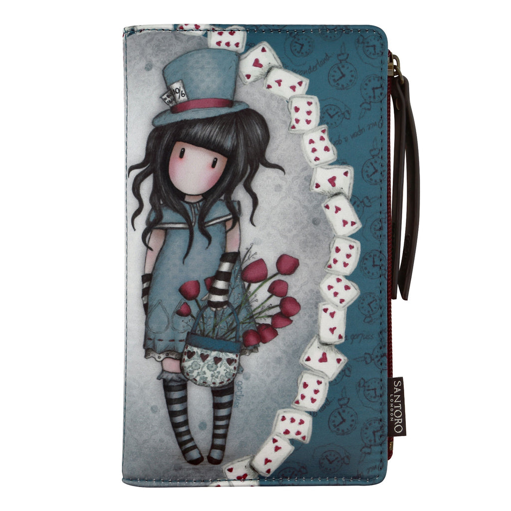 Gorjuss Large Wallet - The Hatter 8474