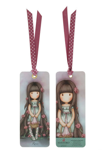 Gorjuss Bookmark - Rosebud 6361