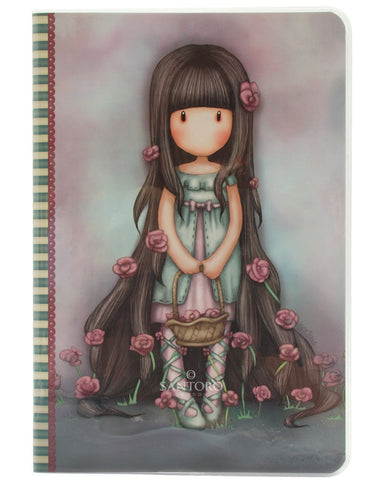 Gorjuss A5 Stitched Notebook - Rosebud 5960