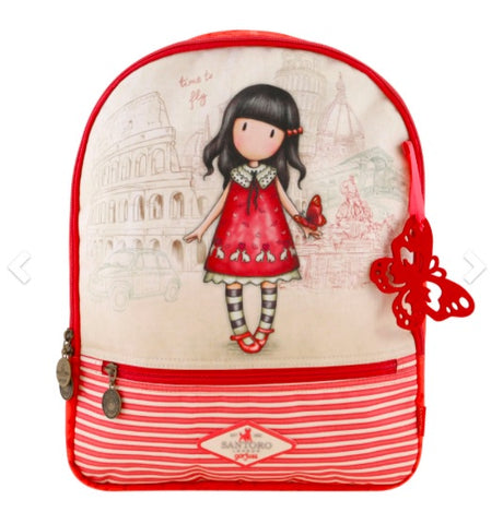 Gorjuss Cityscape Rucksack - Time to Fly 7567