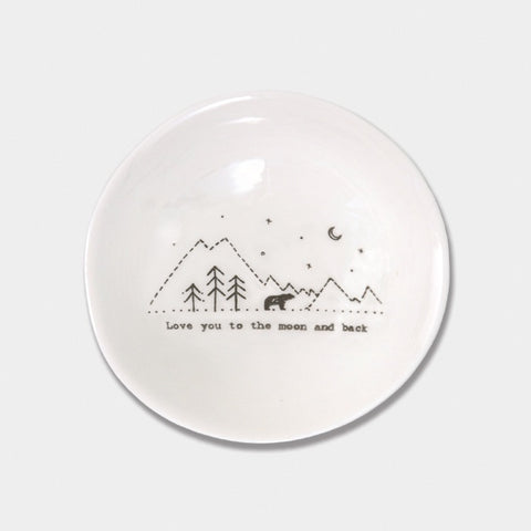 Md Wobbly Bowl - Love You Moon & Back 7248