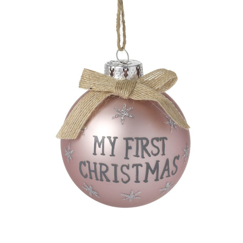 My 1st Christmas Bauble 9197