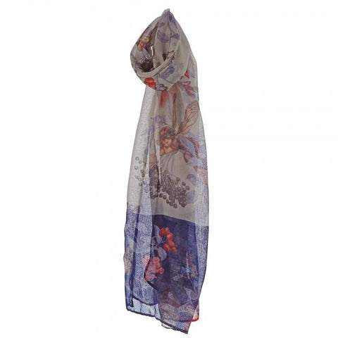 Flower Fairies Elderberry Ladies Scarf 7476